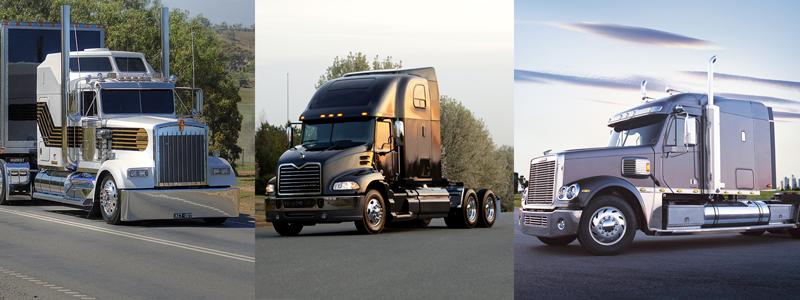 Camiones americanos vs. camiones europeos