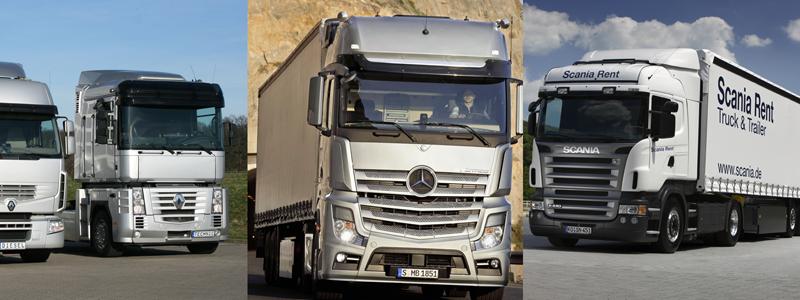 Camiones europeos