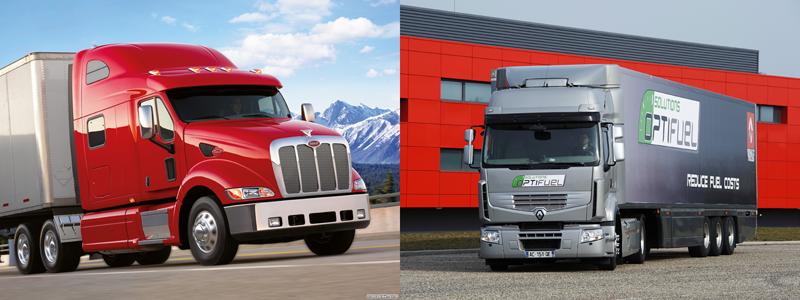Camiones norteamericanos vs. camiones europeos